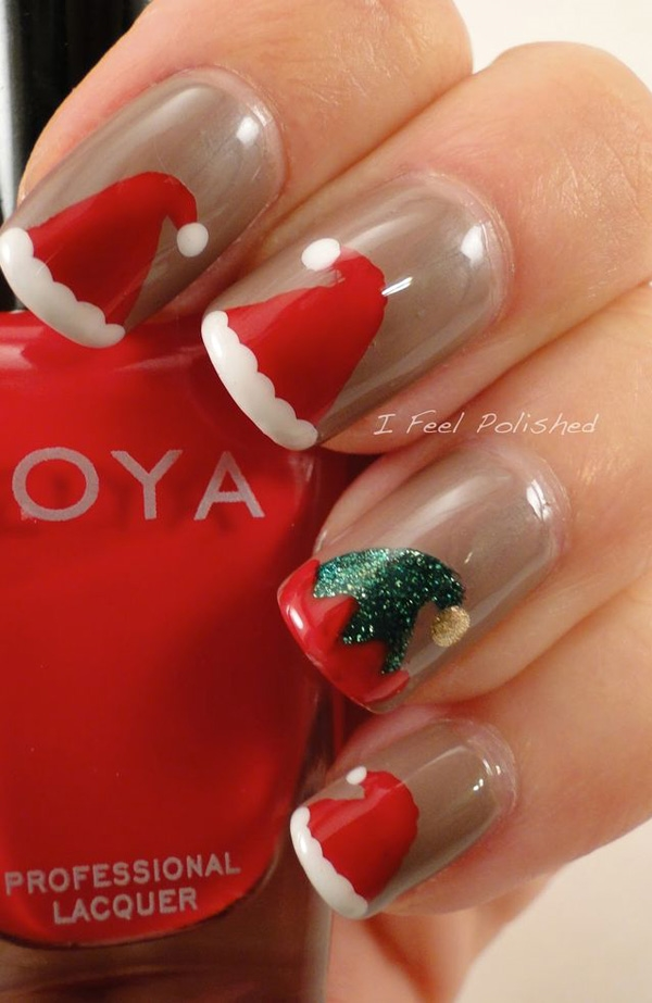 easy-christmas-nail-art-designs-and-ideas-1