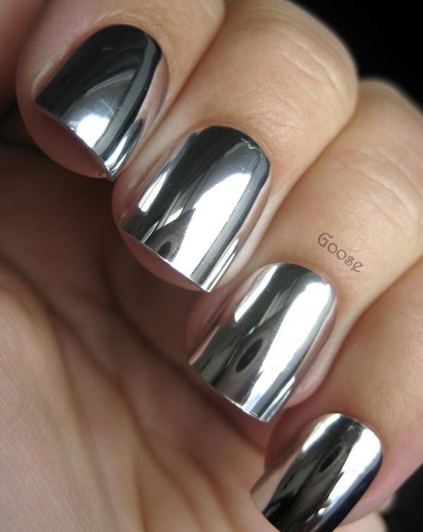 Metallic Silver Nail Polish Sephora