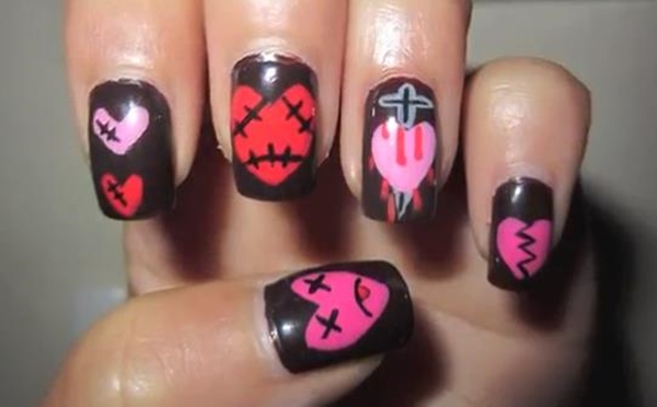 20-disastrously-festive-anti-valentine-nail-arts-for-those-who-arent-in-love-this-year-10