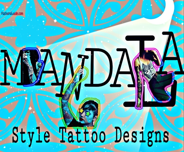 Mandala Style Tattoo Designs