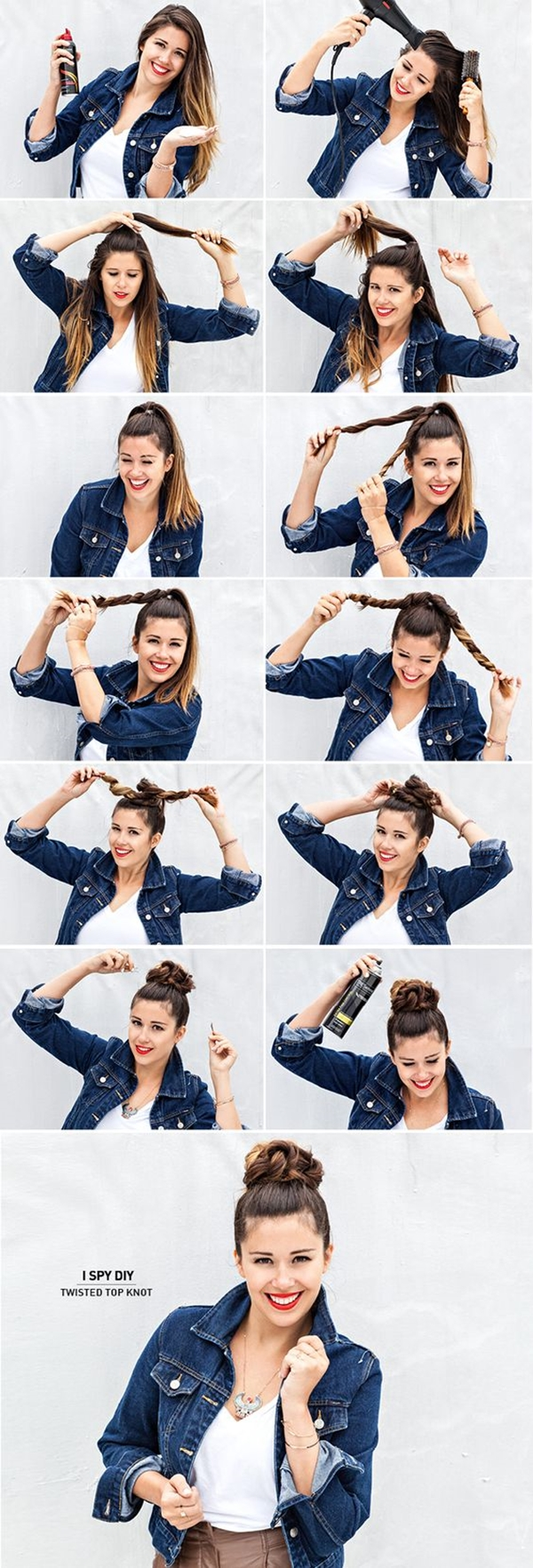 How to Make Bun Hairstyles - 2