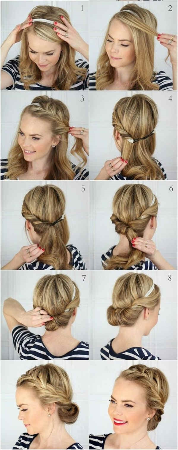 How to Make Bun Hairstyles - 3