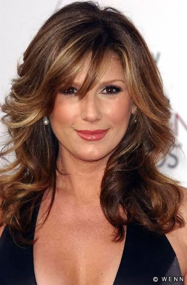 Medium Length Hairstyles and Haircuts for Women - (27)
