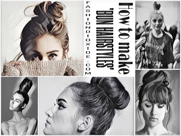 feature How to Make Bun Hairstyles