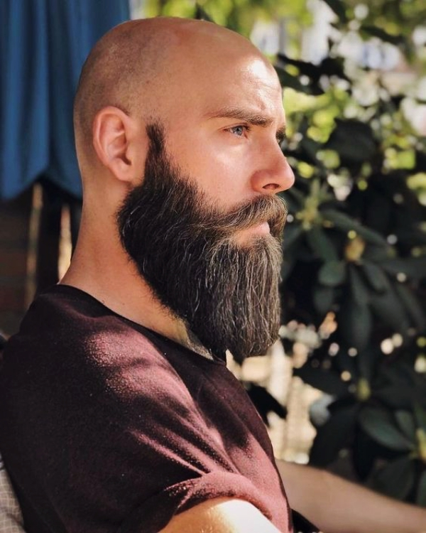 Shaved-Head-With-Beard-65-Beard-Styles-For-Bald-Men