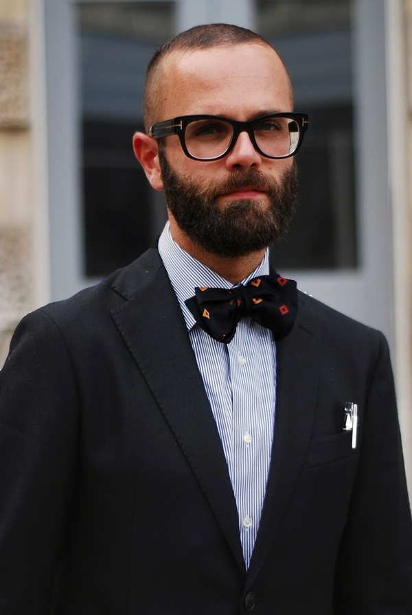 Enjoyable Shaved Head With Beard 40 Beard Styles For Bald Men Fashiondioxide Hairstyles For Women Draintrainus