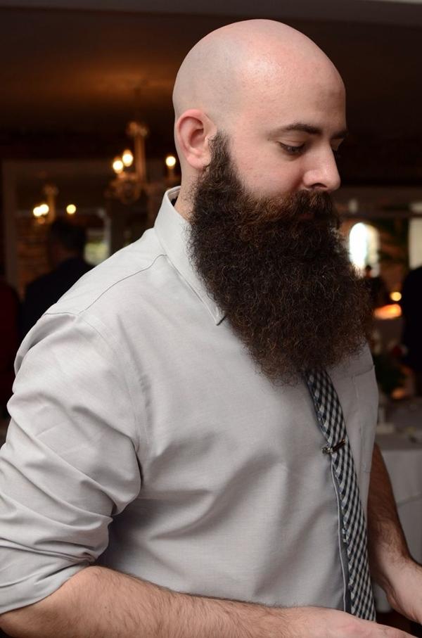 Shaved Head With Beard  40 Beard Styles For Bald Men  Fashiondioxide