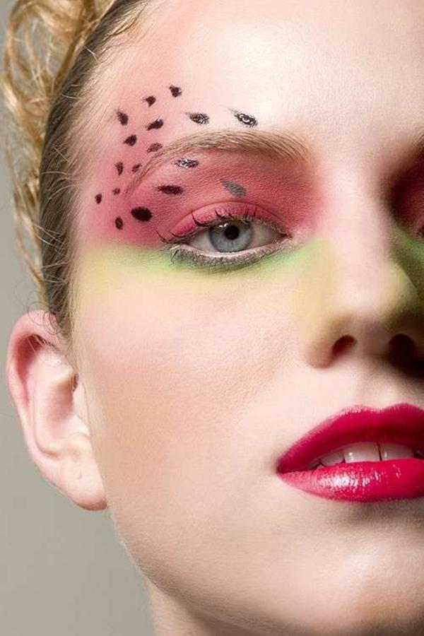 15 Creative Eye Makeup Arts Thatll Blow Your Mind - SheIdeas