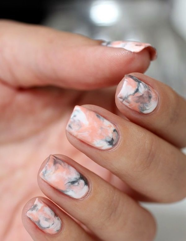 40 faule Mädchen Sommer Nail Art Ideen, dieses Jahr zu versuchen