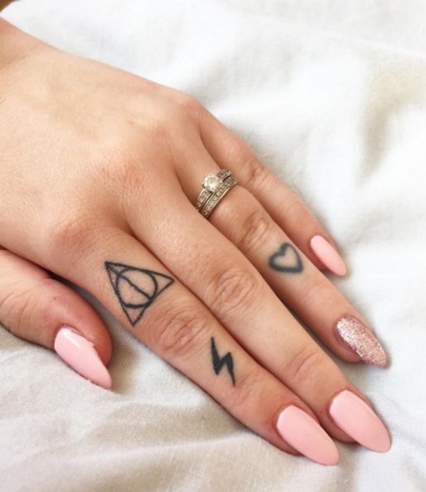21 small tattoo designs with actual meanings for Finger tattoo ideas