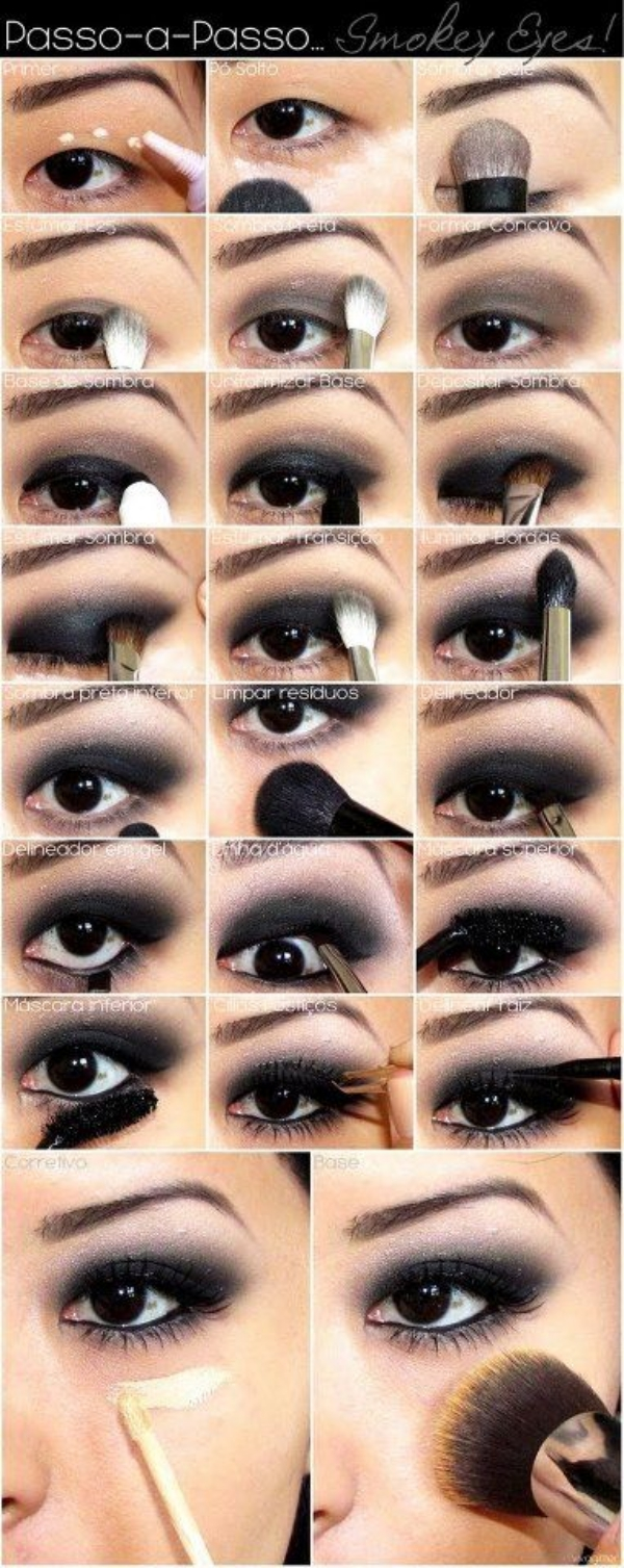 Makeup for Different Types of Eye Shapes