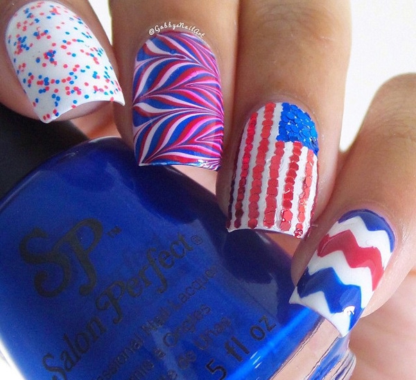 """4th-of-July-Nail-Arts-Ideas"""