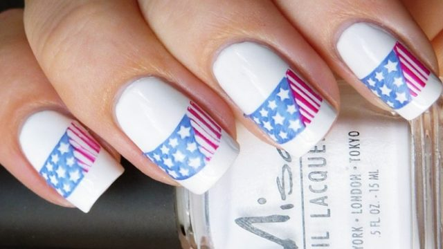 Nail art archives fashiondioxide patriotic 4th of july nail arts ideas prinsesfo Images
