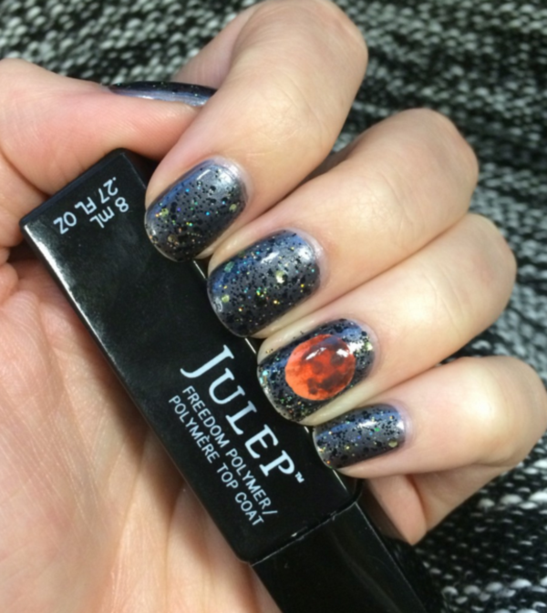 40 Scary Halloween Nails Art And Polish Designs