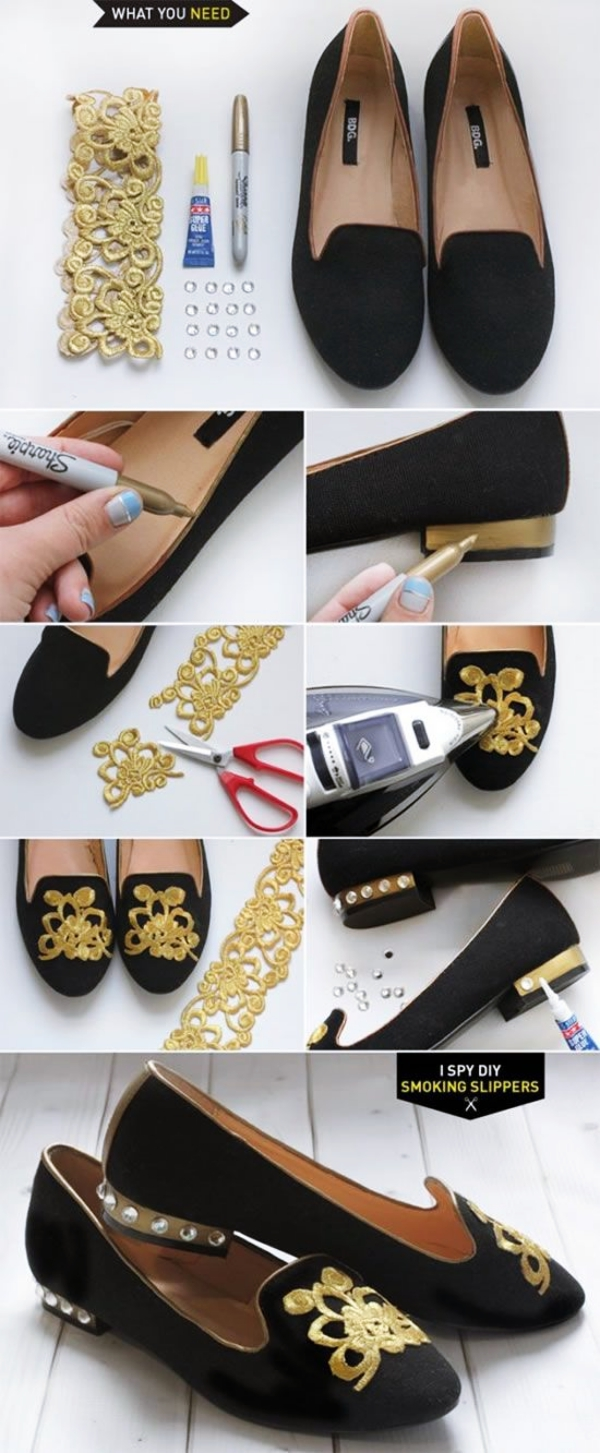 Easy-DIYs-to-Upgrade-your-Old-Shoes