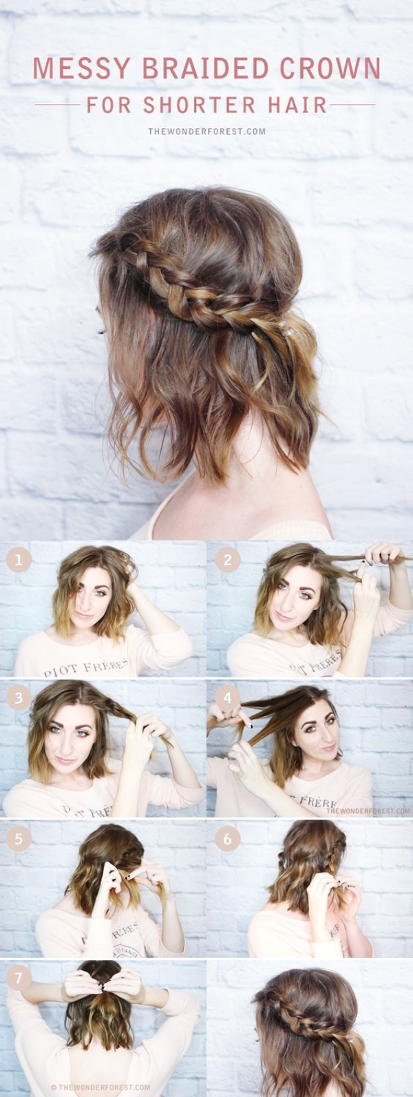 40 Easy Hairstyles No Haircuts For Women With Short Hair How To