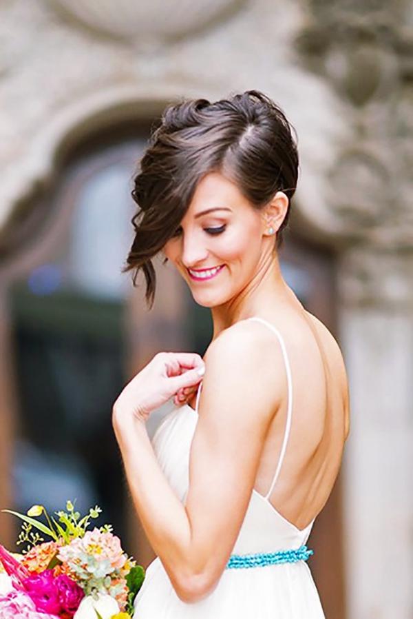 35 perfekte Hochzeit Frisuren für kurze Haare
