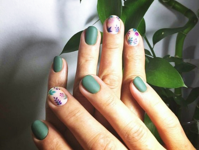 50 Pretty Fall Nail Art Ideas To Try In 2018 Fashiondioxide