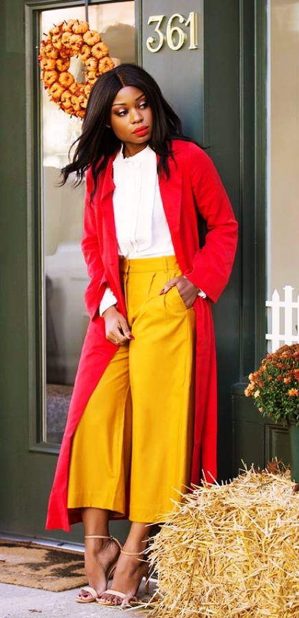 Casual-Work-Outfits-For-Black-Women