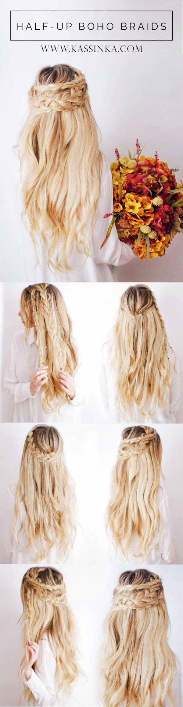 Delightful Greek Goddess Half Up Half Down Hairstyles