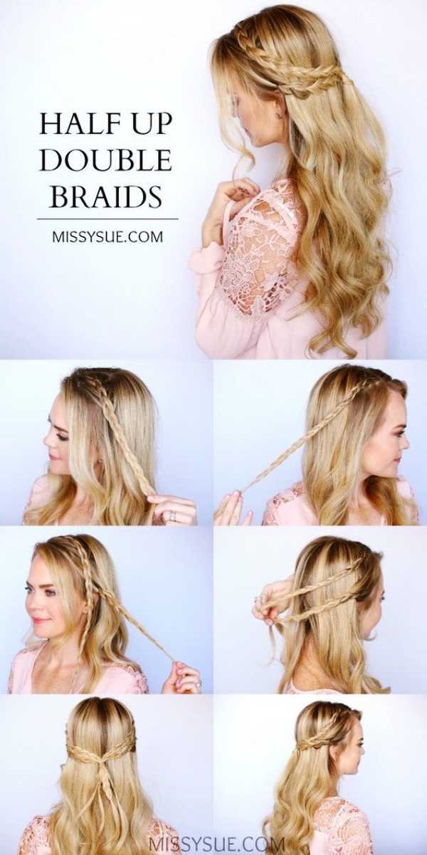 Greek Goddess Half Up Half Down Hairstyles