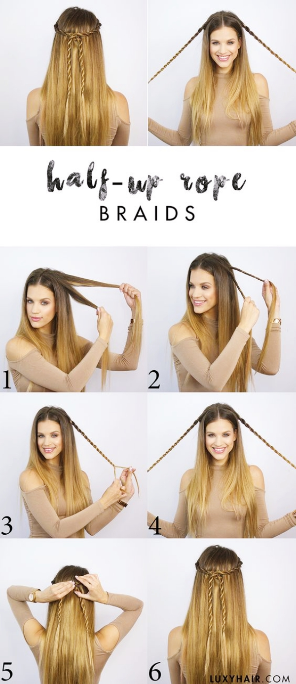 how to style your hair for school 35 goddess half up half hairstyles fashiondioxide 3827