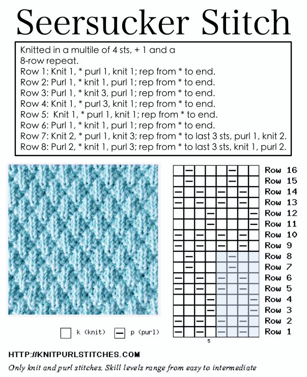 15 Easy Knitting Stitches Patterns For Beginners Complete