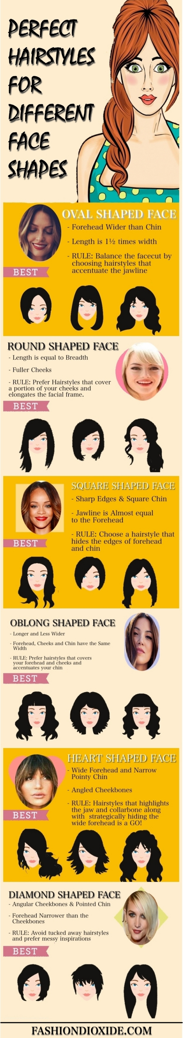 Perfect-Hairstyles-for-Different-Face-Shapes