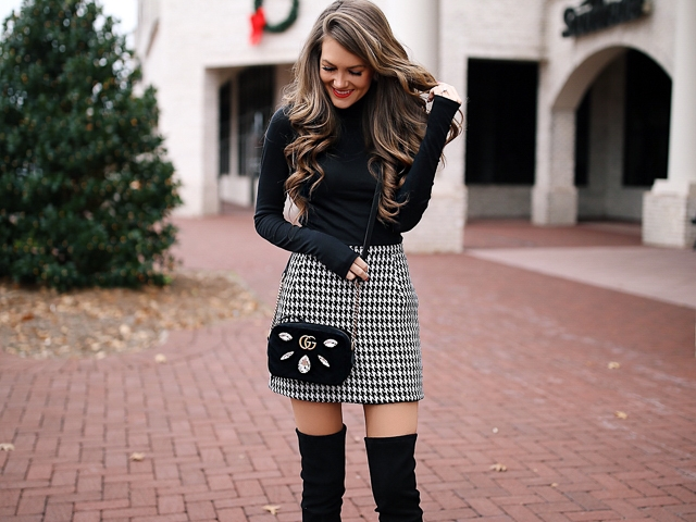 ways-wear-knee-high-boots-outfit-winter