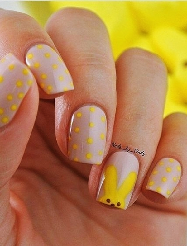 easter nail art 40 easter nail designs and ideas 2018 fashiondioxide 31677