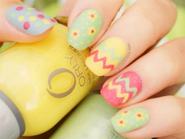 40 Easter Nail Art Designs And Ideas 2018 Fashiondioxide