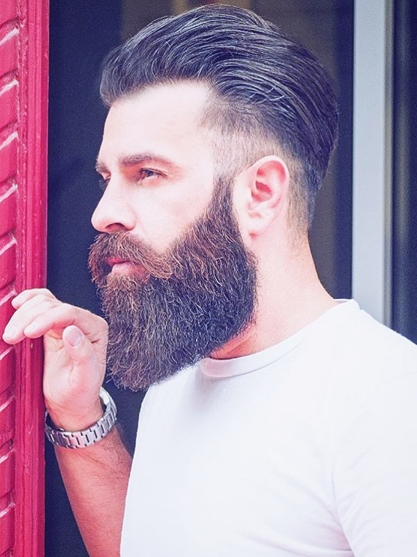 40 Genuine Beard Styles For Round Face Men Fashiondioxide