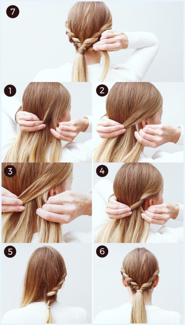 45 Easy-Peasy-Frisuren-Tutorials für das Arbeiten von MOMs