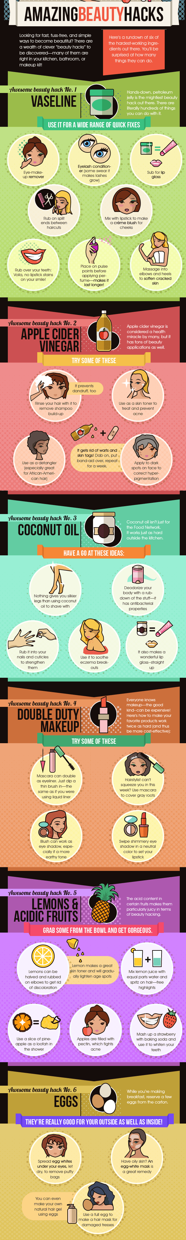 Different Beauty Hacks That Will Surprise You