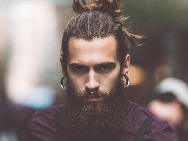 Men facial hair syles
