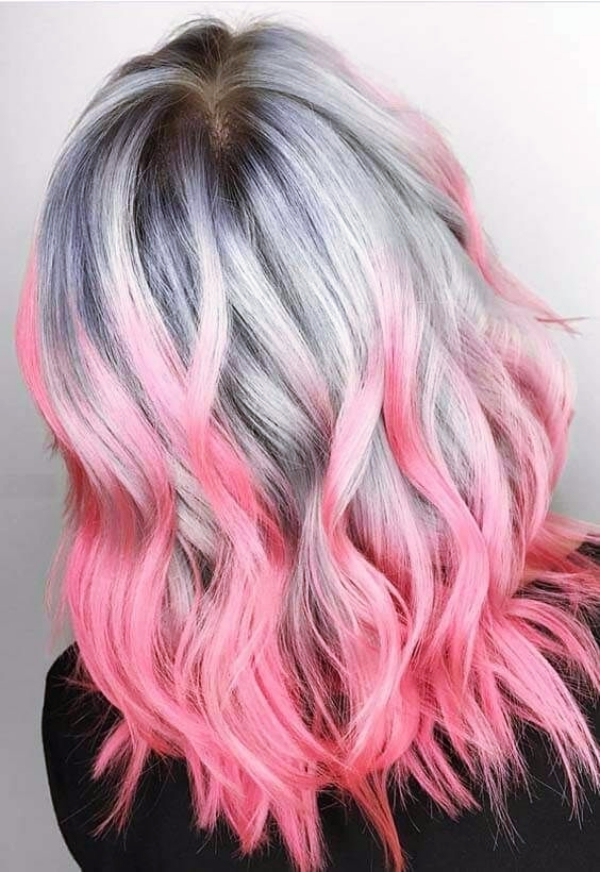 21 Silber Haarfarbe Ideen, diese Saison Grey