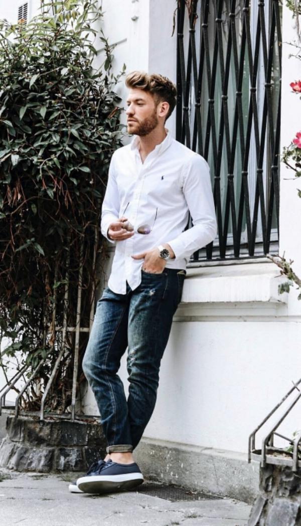 Dressing For Your Body Shape Men S Fashion Guide Fashiondioxide