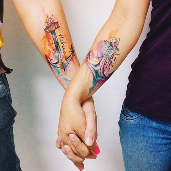 unique-and-matching-couple-tattoo-designs