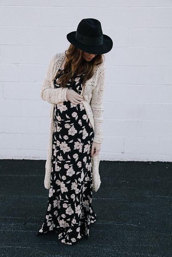 ways-to-wear-maxi-dress-in-winter