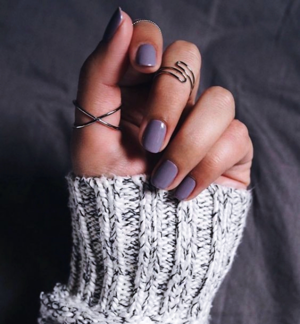 Trending Fall Nail Designs and Colors
