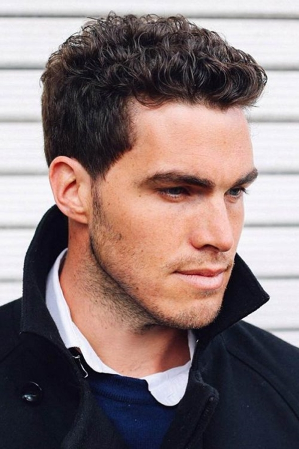 40 Hairstyles for Men with Curly Hair - Fashiondioxide