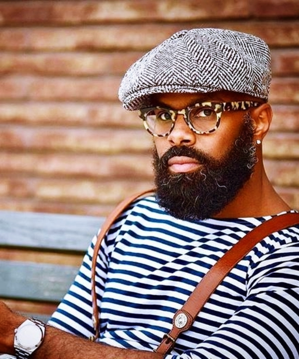 Dynamic-Black-Men-Beard-Styles-2019