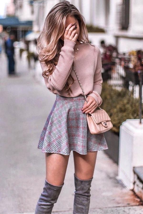 Popular-High-Waist-Skirt-Outfits