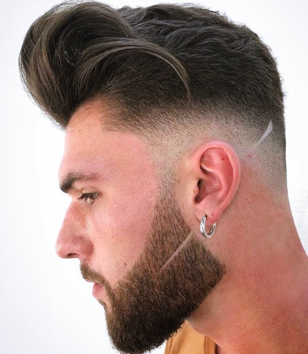 Masculine-Hairstyles-for-Men-with-Beard
