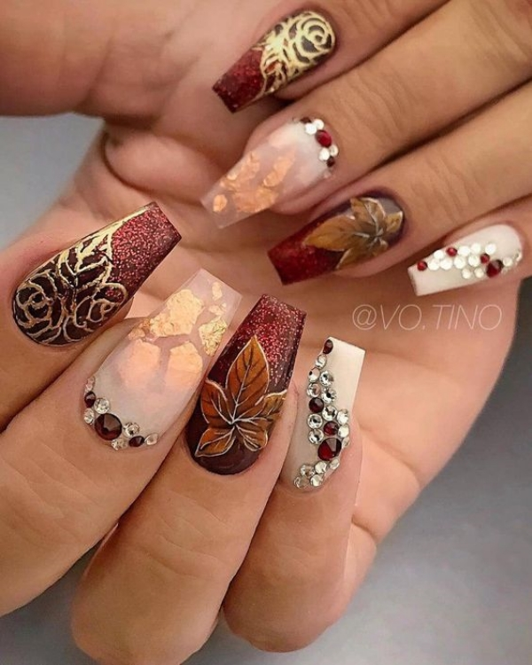 Stunning-Fall-Acrylic-Nail-Designs-and-Ideas