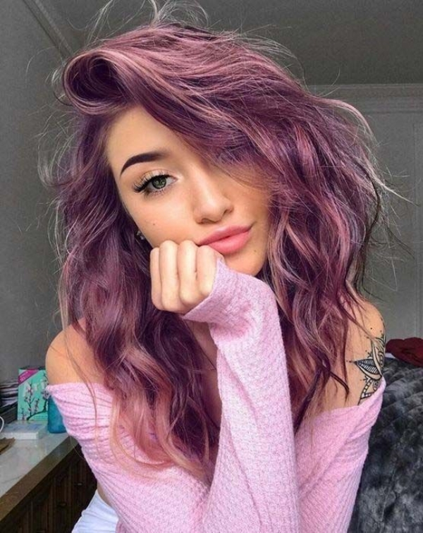 Catchy Hair Color Ideas for Brunettes to Try this Fall