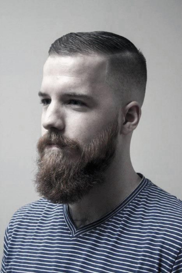 Mentastic Short Hairstyles for Men with Beard