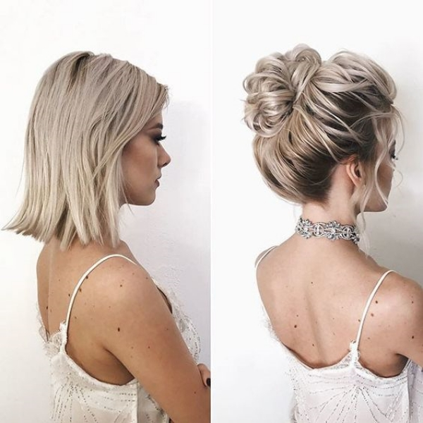 Wedding Hairstyles 2019: 45 Stylish Wedding Hairstyles For Short Hair