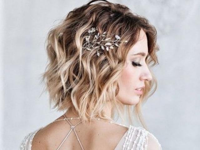 Stylish Wedding Hairstyles For Short Hair