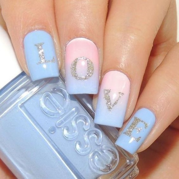 Cute and Easy Valentine's Day Nail Art Designs and Ideas